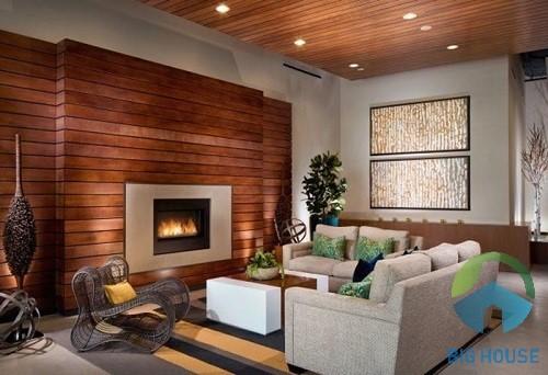 gạch giả gỗ ốp tường 2