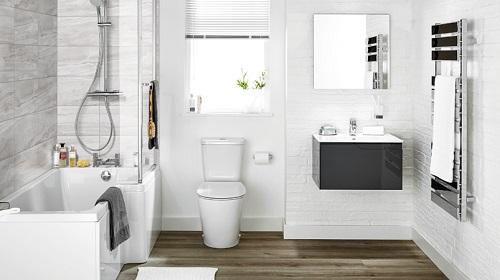 gạch giả gỗ phòng tắm 1