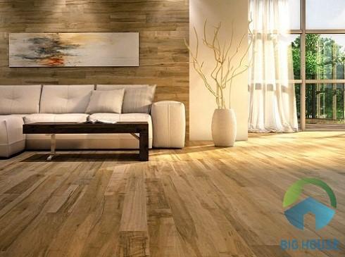 gạch ốp tường màu gỗ 2