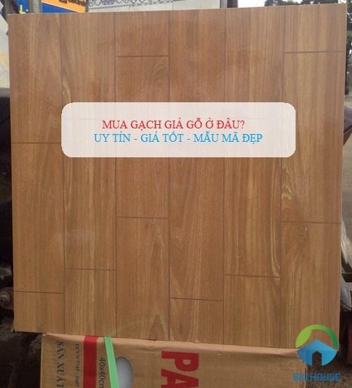 Mua gạch giả gỗ ở đâu giá tốt – chất lượng cao nhất trên toàn quốc?