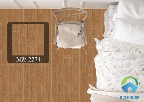 sàn nhà lát gạch giả gỗ 1