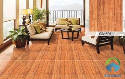 sàn nhà lát gạch giả gỗ 8