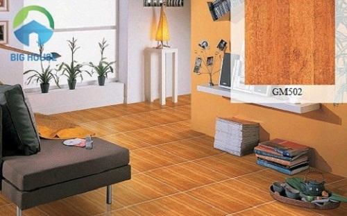 sàn nhà lát gạch giả gỗ 9
