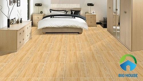 gạch giả gỗ 40x40