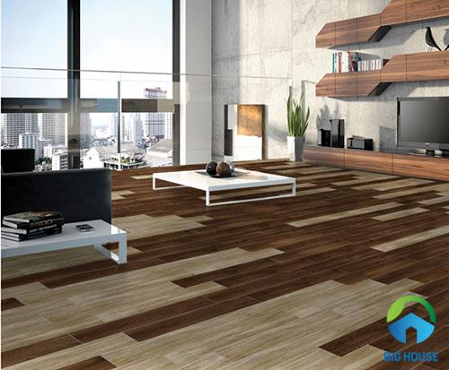 Gạch giả gỗ 15×80 – Xu hướng thiết kế mới cho mọi không gian
