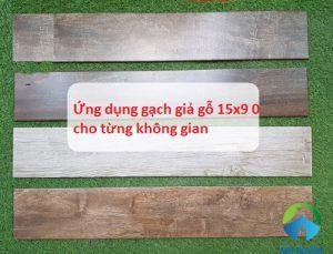 Ứng dụng gạch giả gỗ 15×90 cho không gian thêm ấn tượng