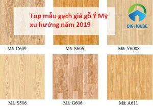 15++ mẫu gạch giả gỗ Ý Mỹ đứng đầu xu hướng hiện nay