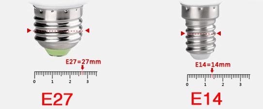 Bóng đèn E27 và E14 là gì? Tìm hiểu các loại bóng đèn phổ biến
